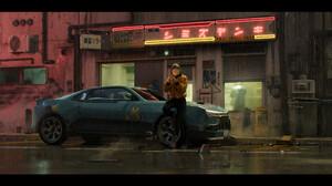 Girls Amp Cars Night Street 3840x2052 Wallpaper