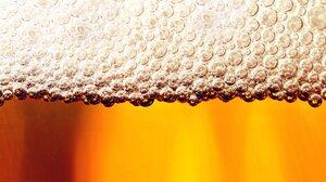 Beer Drink Foam Macro 2960x1850 Wallpaper