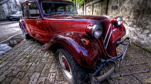 Citroen French Car Traction 2376x1584 Wallpaper