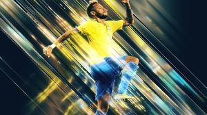 Brazilian Neymar Soccer 2560x1600 Wallpaper