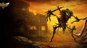 Fiddlesticks League Of Legends 1600x801 wallpaper