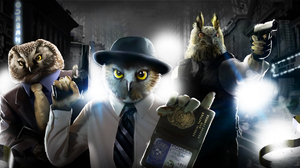Owl 2200x1100 Wallpaper