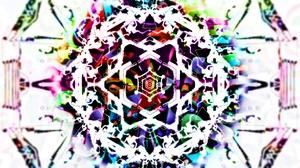 Artistic Colors Pattern 3386x2001 Wallpaper