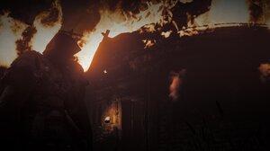Assassins Creed Assassins Creed Valhalla Orange Landscape Eivor Fire 2752x1152 Wallpaper