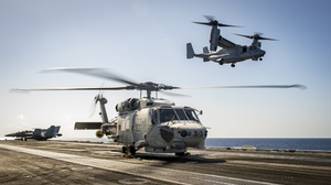 Aircraft Bell Boeing V 22 Osprey Helicopter Jet Fighter Sikorsky Sh 60 Seahawk 2500x1406 Wallpaper