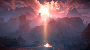 Horizon Zero Dawn Video Game Art Video Games 3840x2160 Wallpaper