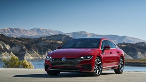 Car Compact Car Red Car Vehicle Volkswagen Volkswagen Arteon 3850x2560 Wallpaper