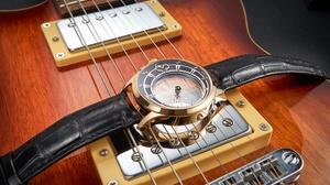 Guitar Watch Wristwatch 6708x4472 Wallpaper