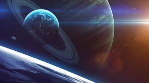 Sci Fi Planets 1920x1200 wallpaper