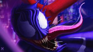 Digital Digital Art Artwork Illustration Marvel Comics Marvel Cinematic Universe Venom Eddie Brock S 2560x1440 Wallpaper