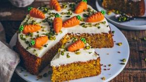 Cake Carrot Pastry 1920x1177 Wallpaper