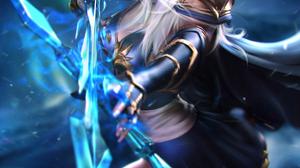 Ashe League Of Legends League Of Legends Video Games Video Game Girls Video Game Characters Fantasy  2000x2800 Wallpaper