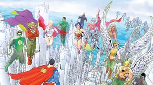 Alan Scott Dc Comics Black Lightning Carter Hall Dc Comics Diana Prince Flash Green Lantern Hal Jord 1920x1080 Wallpaper