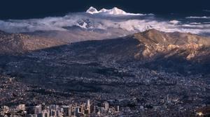 Bolivia Mountain La Paz Illimani 1920x1200 wallpaper
