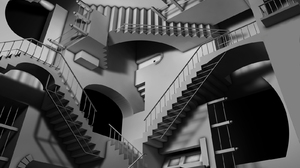 Stairs 1600x1200 wallpaper