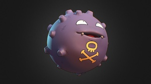 Koffing Pokemon Pokemon 1920x1080 Wallpaper