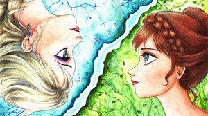 Anna Frozen Elsa Frozen Frozen Movie Snow 1600x1204 wallpaper