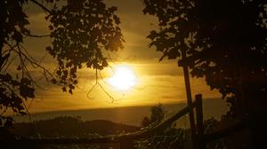 Sun Rays Sunlight Outdoors Fence 4608x2592 Wallpaper