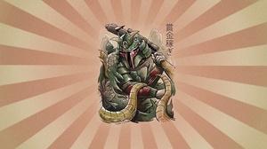 Boba Fett Samurai 2500x1400 Wallpaper
