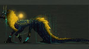 Fantasy Creature 6000x3000 Wallpaper