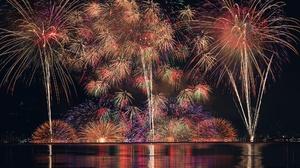 Fireworks Night 2048x1367 Wallpaper
