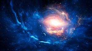 Sci Fi Galaxy 2211x1080 Wallpaper