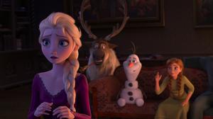 Anna Frozen Elsa Frozen Kristoff Frozen Olaf Frozen Sven Frozen 6720x2814 Wallpaper