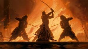 Fantasy Art Samurai Warrior ArtStation 1920x1100 wallpaper
