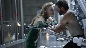 Hugh Jackman Svetlana Khodchenkova The Wolverine Viper Marvel Comics 4928x2772 wallpaper