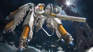 Comics Marvel Comics Space Valkyrie Science Fiction Robot AGOTO 4096x2321 Wallpaper