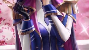 Caitlyn League Of Legends Battle Academia League Of Legends Video Games Video Game Girls Video Game  3900x6500 wallpaper