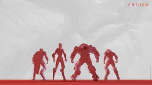 Anthem Video Games RPG Co Up Game EA Games Bioware Javelins 3840x2160 Wallpaper