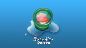 Anime Ponyo 1920x1200 Wallpaper