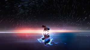 Digital Art Women Fantasy Art Reflection Deer Angel T1na 2560x1440 Wallpaper