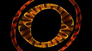 Chaoscope Software Eye Circle Orange Color 1600x1200 wallpaper