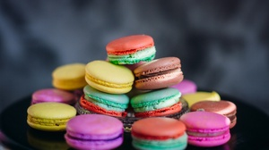 Colors Macaron Sweets 3583x2389 wallpaper