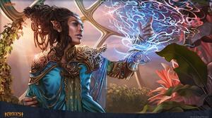 Druid Elf Kaladesh Magic The Gathering Magic The Gathering Rashmi Eternities Crafter 1920x1080 Wallpaper
