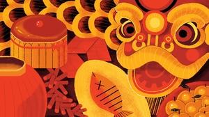 Chinese New Year 3690x2076 Wallpaper