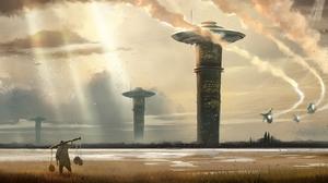 Sci Fi Landscape 1920x912 Wallpaper