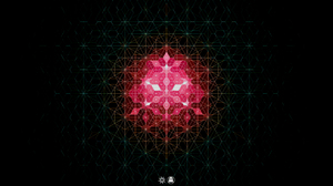 Andy Gilmore Abstract Black Background Artwork Pattern Geometry 2560x1440 Wallpaper