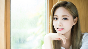 Asian Brunette Women Face Looking At Viewer Pierced Ears Window TZUYU Twice Women Indoors Indoors Ma 2000x1125 Wallpaper