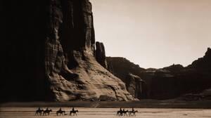 Landscape Nature Cowboy Cowboys Historic West Coast Canyon 3619x2767 Wallpaper