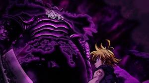 Blonde Demon King The Seven Deadly Sins Meliodas The Seven Deadly Sins Sword The Seven Deadly Sins W 3664x2720 Wallpaper