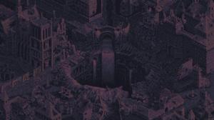 Digital Art Pixel Art Pixelated Pixels Fantasy City Waterfall House Castle Building Cathedral 1920x1080 Wallpaper