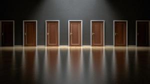 Artistic Door 3000x1600 Wallpaper