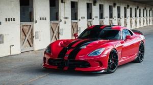 Car Dodge Dodge Viper Gts Red Car Sport Car 3600x2400 Wallpaper