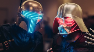Boba Fett Daft Punk Darth Vader Star Wars 2048x1367 Wallpaper