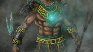 Aztec Warrior 1280x1810 Wallpaper