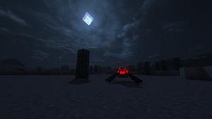 Minecraft Night Spider 4320x2700 Wallpaper