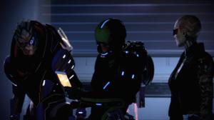 Video Games PC Gaming Screen Shot In Game Mass Effect 2 Science Fiction Garrus Vakarian Jack Mass Ef 3840x2160 Wallpaper